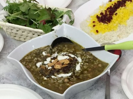 イランの家庭料理をいただきました!
